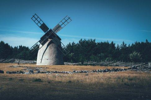 Mittelalter Vibes auf der schwedischen Insel Fårö