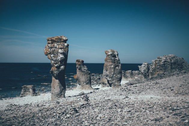 Mystisch und wunderschön, die Küsten von Fårö.