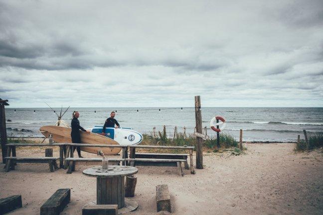 Surfen in Gotland