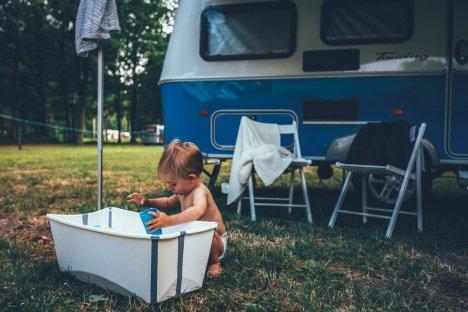 Camping mit Kleinkind - dank ein paar Must-Haves ein riesen Spaß!