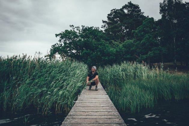 """Der Campingplatz """"Nordic CampingStensö"""" liegt auf einer Naturhalbinsel amKalmarsund"""