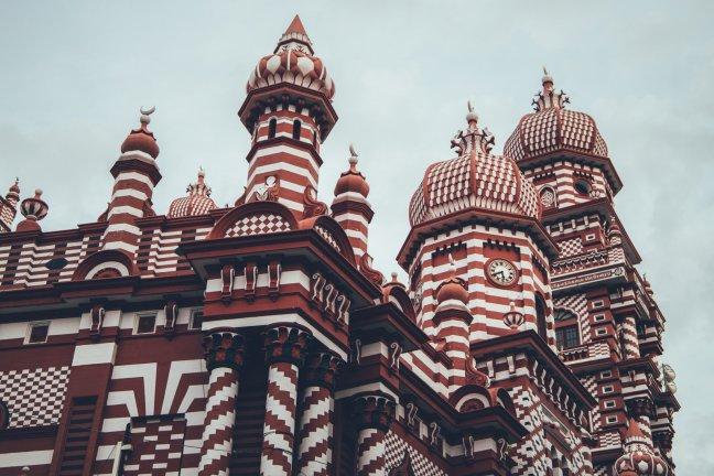 Rote Moschee/ Jami Ul-Alfar Moschee