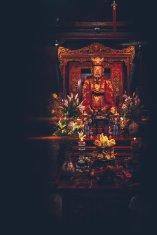 Konfuzius im Literatur Tempel Hanoi