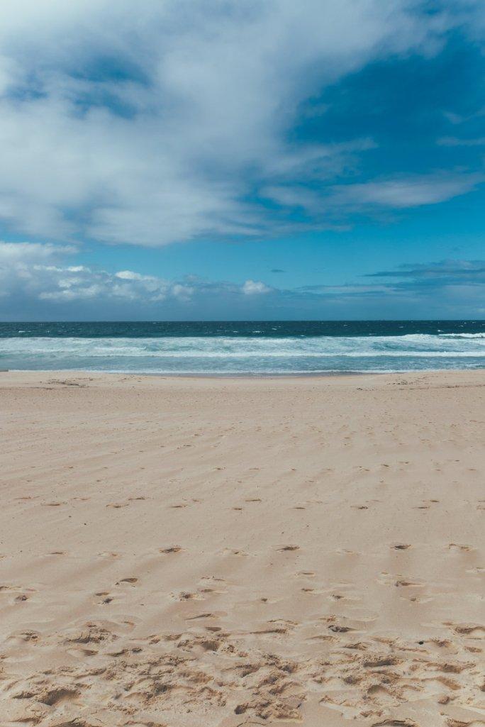 Bondi Beach bei Regenwetter