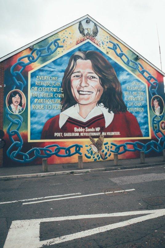 Fahrt durch Belfast