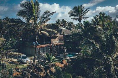 Unser Zuhause auf den Cook Islands, unser Strandhaus auf Rarotonga