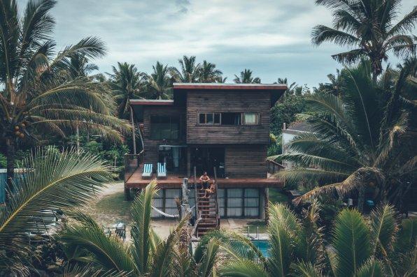 Das Kaireva Beach House - gefunden via Airbnb