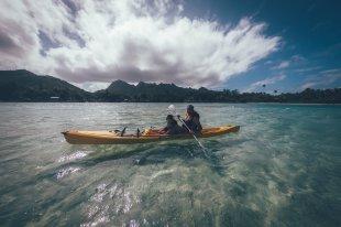 Muri Lagune und die kleine Insel Motutapu