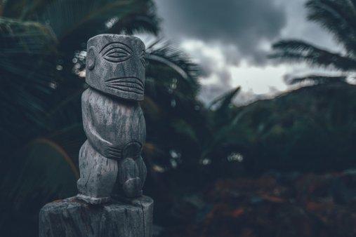 Tradition und Moderne in unserem Haus auf Rarotonga