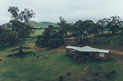 Cottage auf der Curringa Farm
