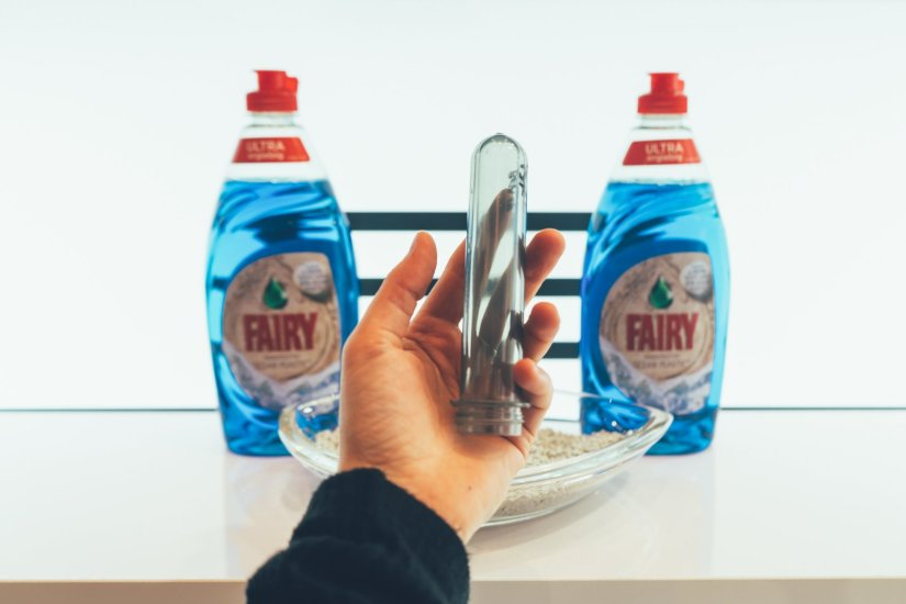 Fairy Flasche mit Ocean Plastic