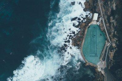 Bronte Pool in Sydney