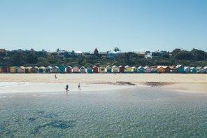 Brigton Beach Bathing Boxes