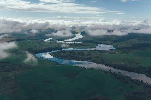 Drohnenfotografie von der Curringa Farm