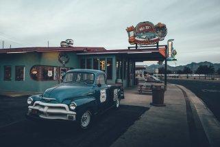 Mr. D'z Route 66 Diner von Außen