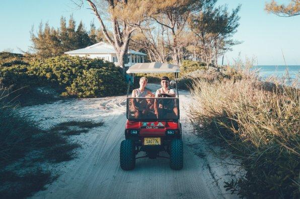 Unterwegs auf Green Turtle Cay