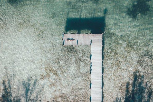 Steg / Drohnenfotografie Green Turtle Cay