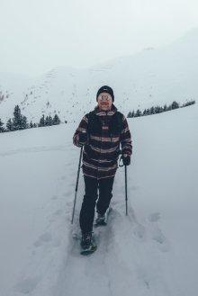 Schneeschuhwandern auf der Hochalm
