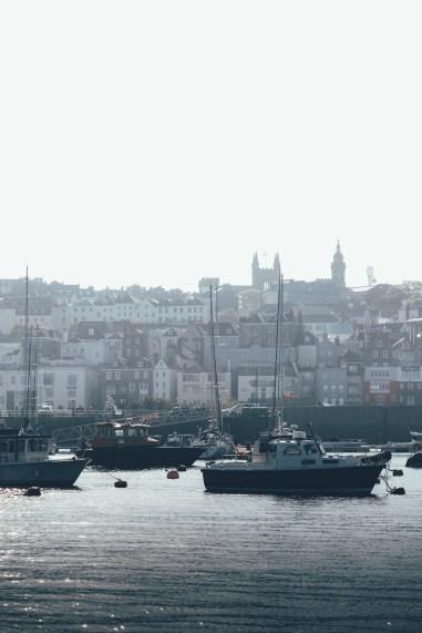 Blich auf St. Peter Port