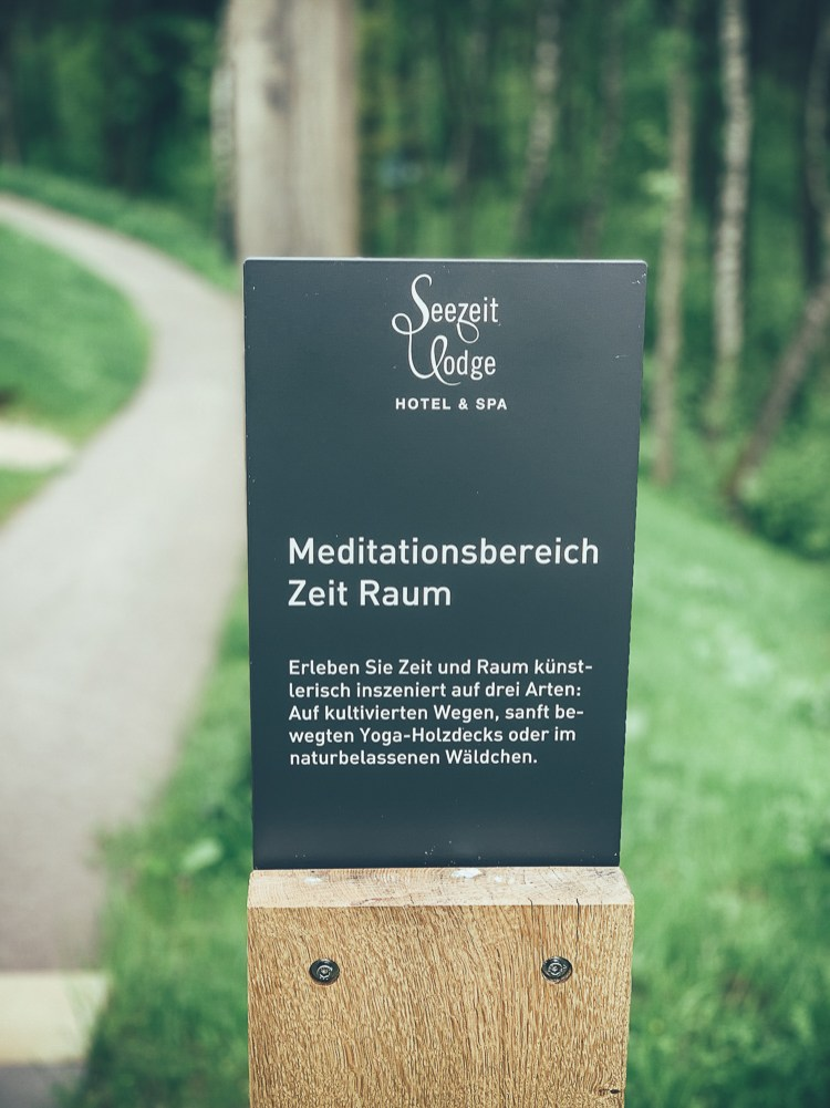 Meditationsbereich Seezeit Lodge