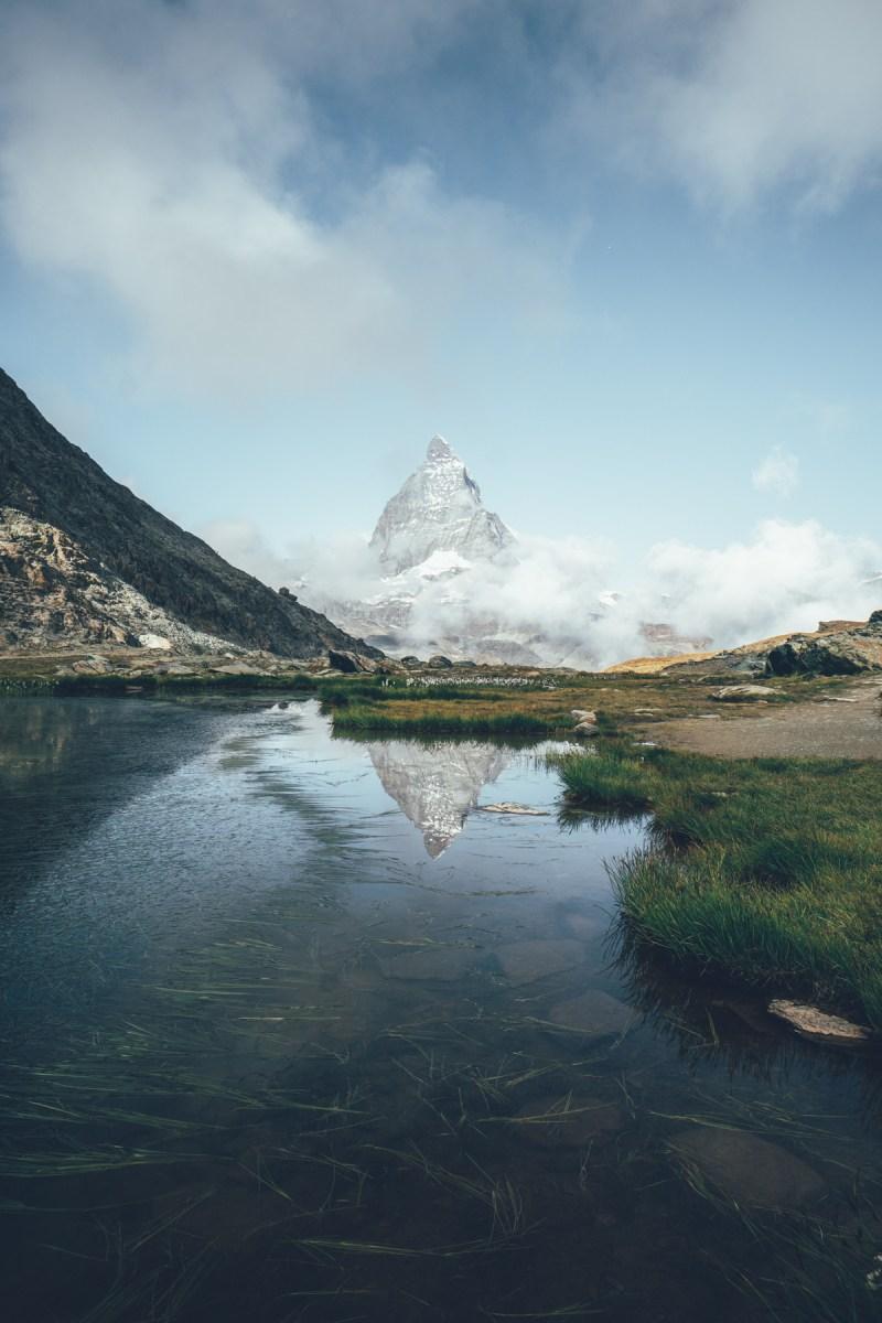 Riffelsee am Matterhorn