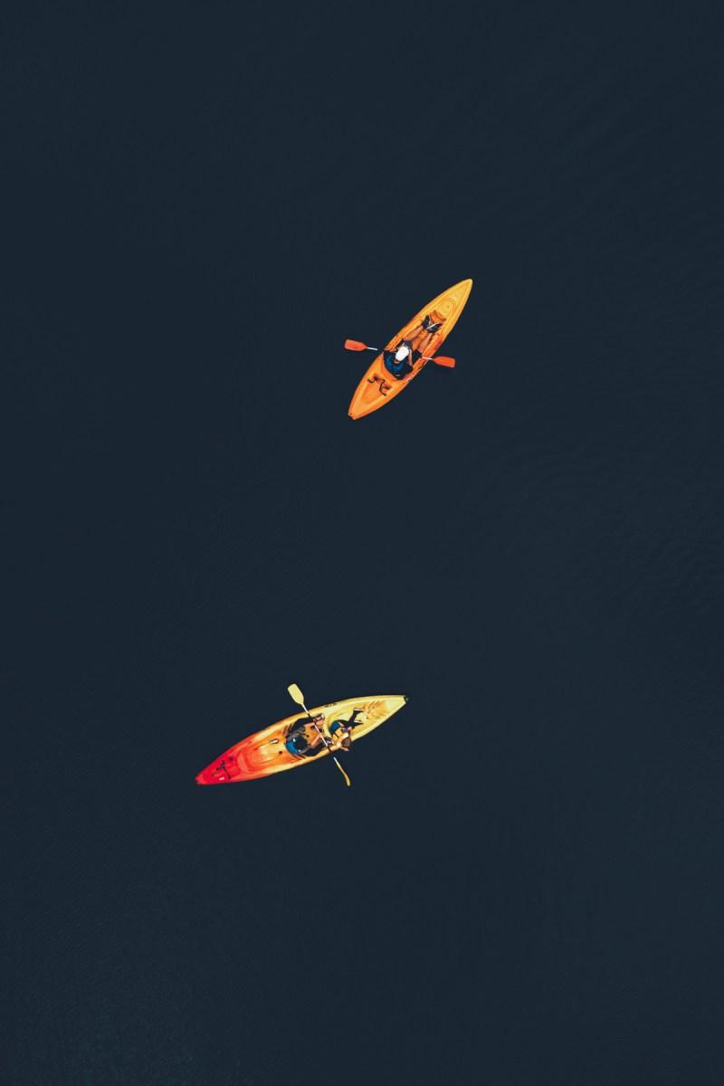 Mit dem Kayak durch das Das Tal der Maler in Nouvelle-Aquitaine