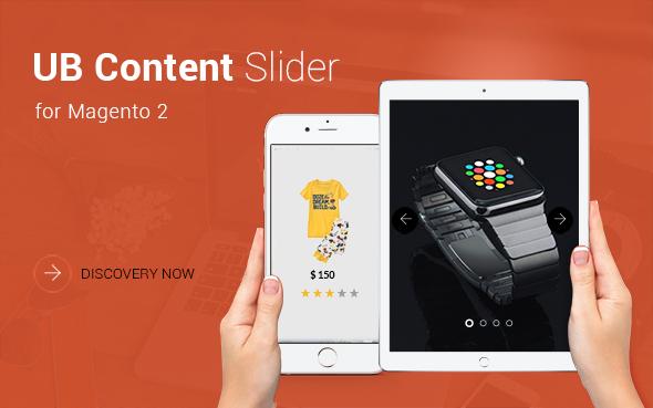 [Magento 2] UB Content Slider Extension