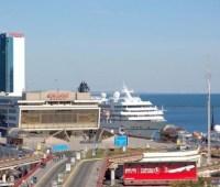 В Одессе протестовали против частной охраны портов