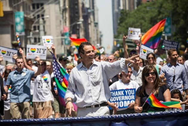 Губернатор штату Нью-Йорк Ендрю Куомо, Нью-Йорк, США, 30 червня 2013 року. Фото: Andrew Burton / Getty Images / AFP