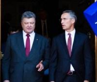 Порошенко встретится со Столтенбергом в штаб-квартире НАТО