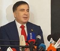 Саакашвили заявил, что обижен не в Авакова, а на Порошенко
