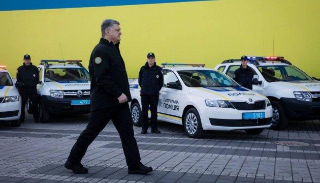 Нацполиция получила еще сотню новых авто и 10 патрульных катеров
