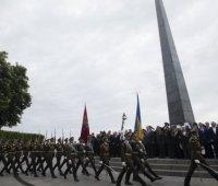 Запрещенные ленты и флаги: сколько нарушений полиция зафиксировала 9 мая