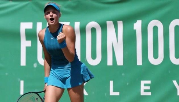 Украинка Ястремская сыграет в матче за титул теннисного турнира  ITF в Риме