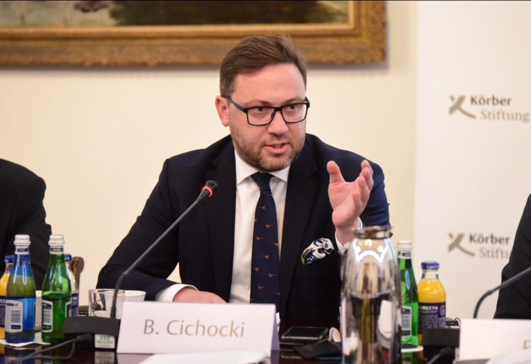 Картинки по запросу МЗС Польщі Б.Ціхоцький