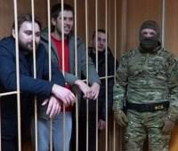 """Сегодня """"морской"""" трибунал рассмотрит дело украинских пленных моряков"""