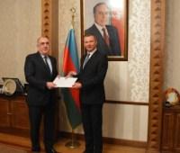 Новый посол Украины начал дипмиссию в Азербайджане