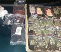 В Кривом Роге в ходе спецоперации задержали 14 человек с наркотиками и оружием