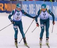 Украинцы стали пятыми в одиночной смешанной эстафете на чемпионате мира по биатлону