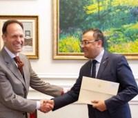 Новый посол Болгарии начал дипмиссию в Украине
