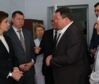 Марина Порошенко посетила Дарьевскую амбулаторию на Херсонщине