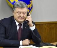 """Порошенко обсудил с премьером Швеции усиление """"азовского"""" пакета санкций"""