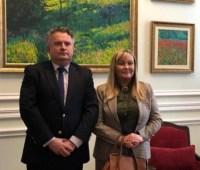 Новая посол Аргентины начала работу в Украине
