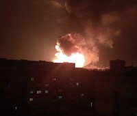 В Кропивницком прогремели несколько мощных взрывов