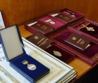 Жданов вручил государственные награды спортсменам Костевич, Герею, Ткач и Прищепе