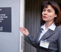 В прифронтовом Зайцево открыли отделение Ощадбанка