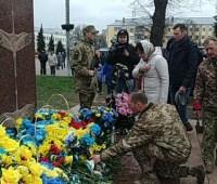 На Черниговщине открыли памятник воинам, погибшим на Донбассе