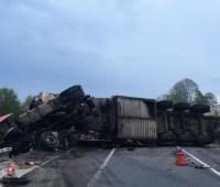 На трассе Киев-Чоп в ДТП пострадали три человека