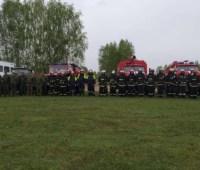 Украинские и белорусские пожарные провели совместные учения