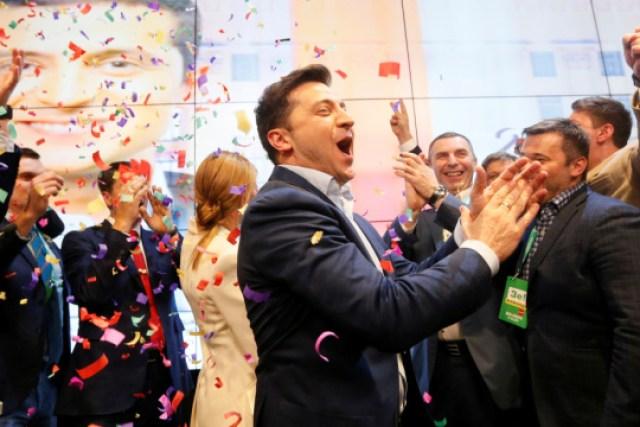 Предвыборная кампания Зеленского получила семь наград на EAPC Polaris Awards